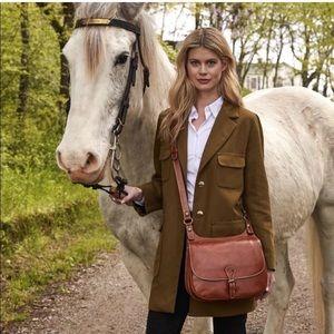 Patricia Nash heritage london leather saddle bag
